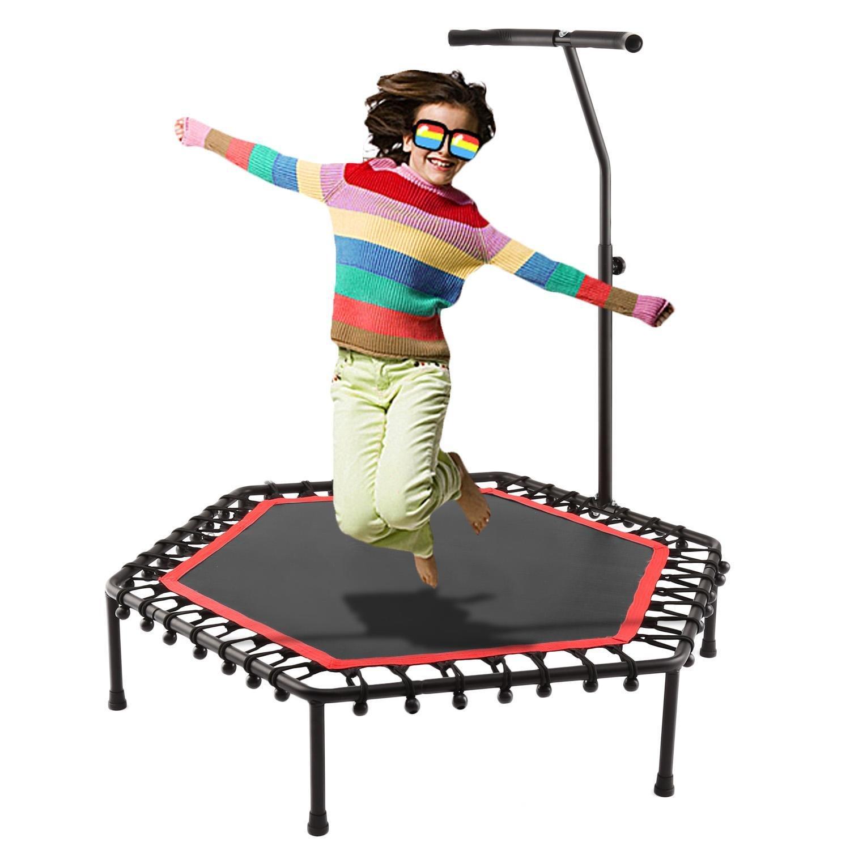 Beautytalk Fitness Trampolin Fitness Trampolin mit Haltegriff für Erwachsene und kinder 83 x 30cm DE Lager