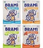 BRAMI Gluten Free, High Protein Vegan Lupini Beans Snack, Starter Pack, 4 Pouches