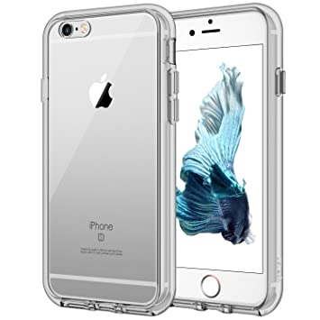JETech Funda para iPhone 6s y iPhone 6, Carcasa Anti-Choques y Anti-Arañazos, Gris