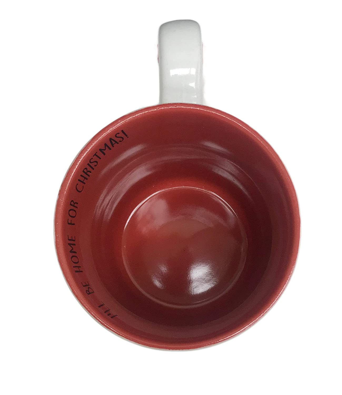 Ill Be Home For Christmas Red Car Carrying Holiday Presents Novelty Ceramic 16 oz Holiday Coffee Tea Coco Drink Gift Mug