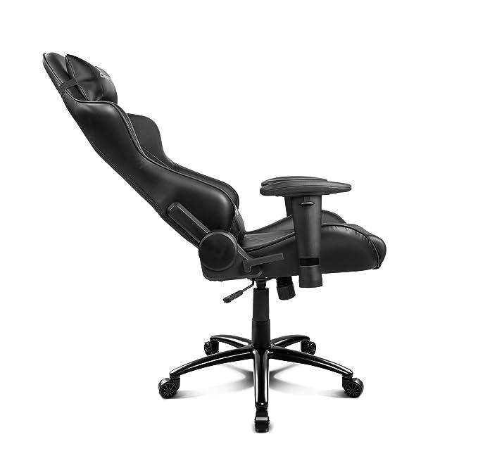 Amazon.com: Drift Gaming dr150b - Silla, color negro: Office ...
