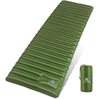 Extremus Micro I-Beam Camping Sleeping Pad-Mat,Extra Thick 4 Inch,Best Self Inflatable Sleeping Camping Pads for…