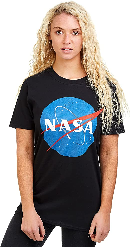 Nasa Circle Logo Camiseta para Mujer