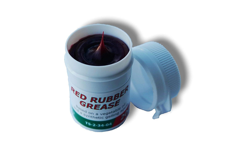 Castrol - Grasa de goma roja para frenos, pinzas de pistón, juntas y fundas, excelente para restablecer el líquido,20 g: Amazon.es: Coche y moto