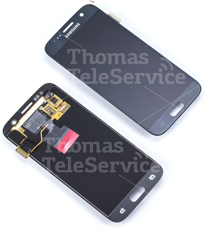 Samsung GH97-18523A - Módulo de pantalla para Samsung Galaxy S7 (incluye digitalizador SM-G930F, color negro: Amazon.es: Informática