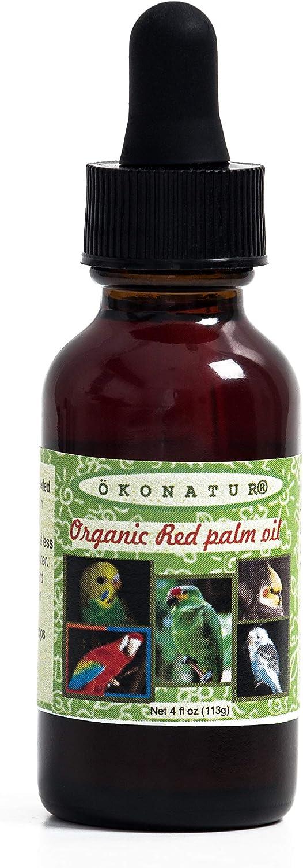 OKONATUR Red Palm Oil for Birds and Parrots - 1 fl oz