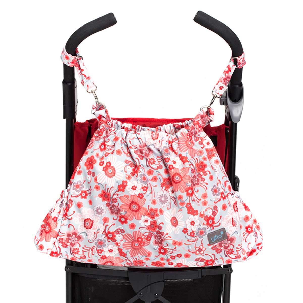Leopard Gitta Carryall Designer Baby Stroller Storage Bag Sack Basket Organizer