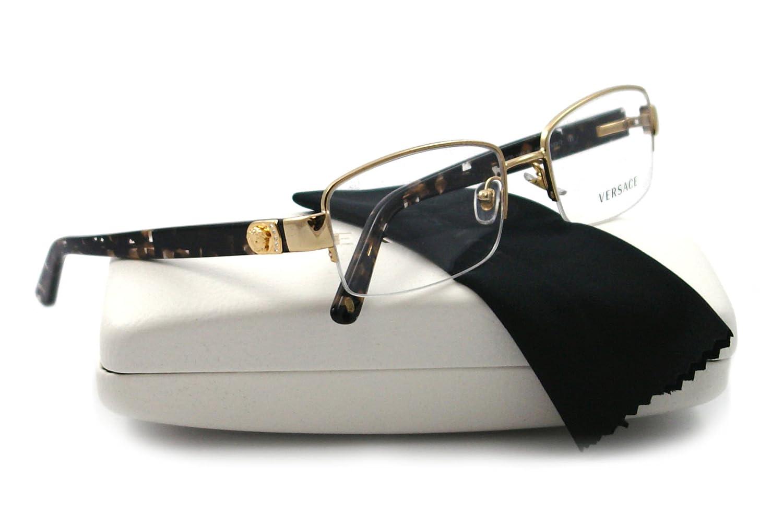54aa534fac Versace Eyeglasses VE 1185B TORTOISE 1002 VE1185  Amazon.co.uk  Health    Personal Care