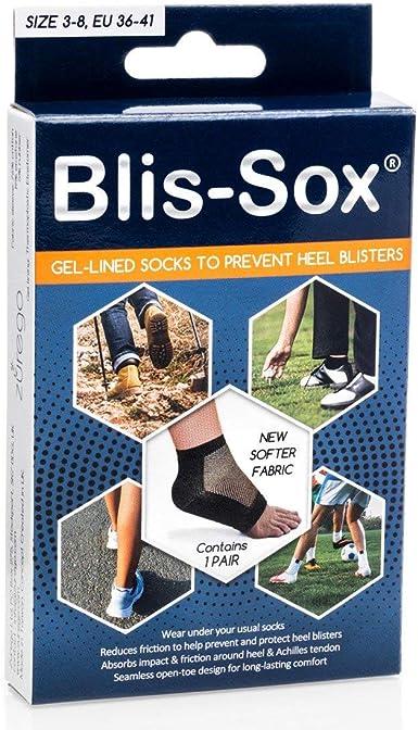 UK7-14 Blis-Sox Blister Gel Lined Sock Sizes UK3-11