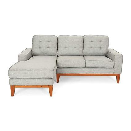 Amazon.com: Rabinyod Bulan Modern Tufted Sectional Sofa ...