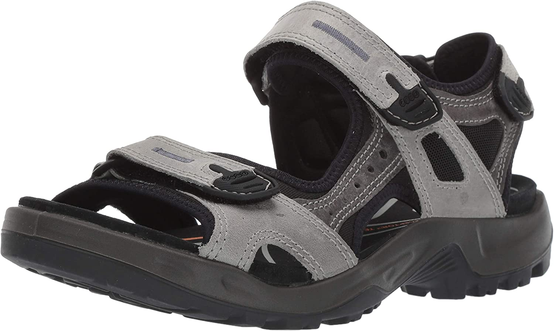 ecco mens leather sandals