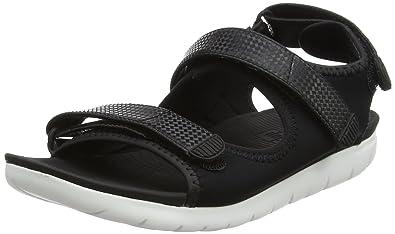 57f9b02ba1f8 Fitflop Women s Neoflex Back-Strap Sandals Open Toe  Amazon.co.uk ...