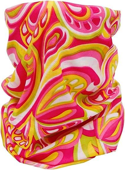 Foulard fazzoletto da collo sciarpa funzionale multiuso scaldacollo tubolare leggero e morbido estate primavera autunno inverno loop anello ragazze colorati stola accessorio moderno lifestyle multiscarf 43-61:multicolore 53