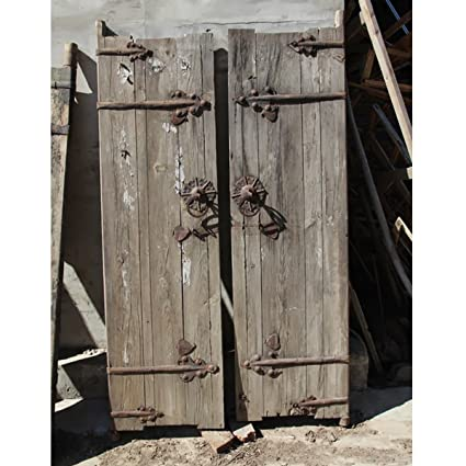 Merveilleux Vintage Garden Gate With Iron Work