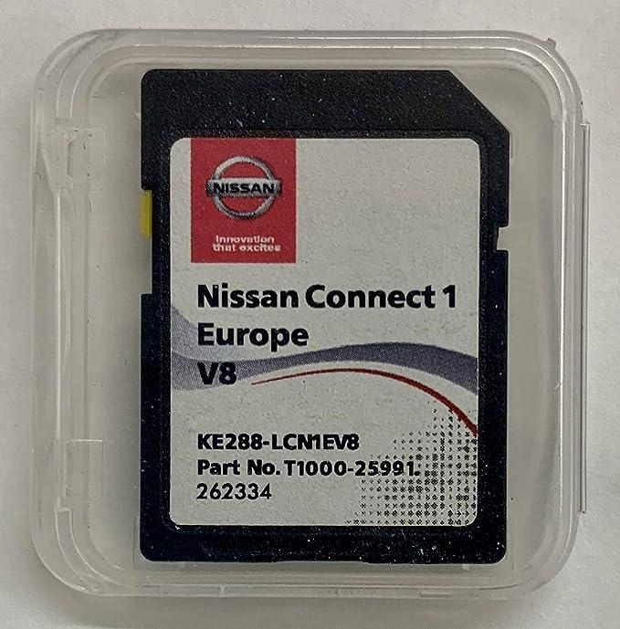 Tarjeta SD Europe 2018 V8 - Nissan Connect 1 LCN1 ...: Amazon.es: Electrónica