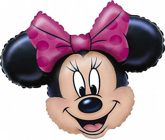 Anagram 0776501 - Party und Dekoration - Folienballon Super Shape - Disney Minnie Mouse, circa 71 x 58 cm