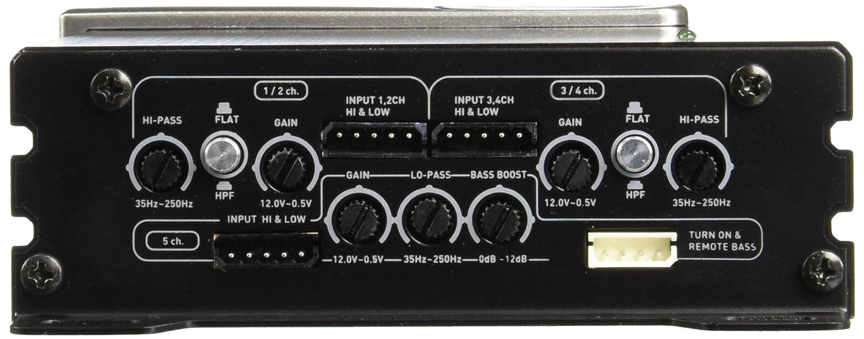 Soundstream PN5.640D Picasso Nano 640 W 5-Channel Class D digital Car Audio Amplifier