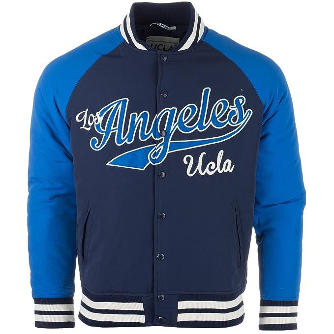 UCLA Chaqueta universitaria Nathan LA para Hombre: Amazon.es ...