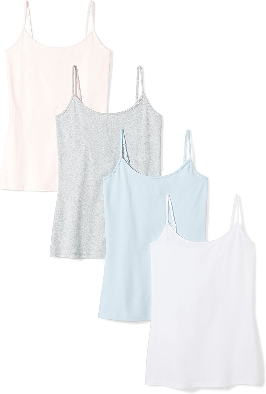 Essentials 4-Pack Camisole Mujer