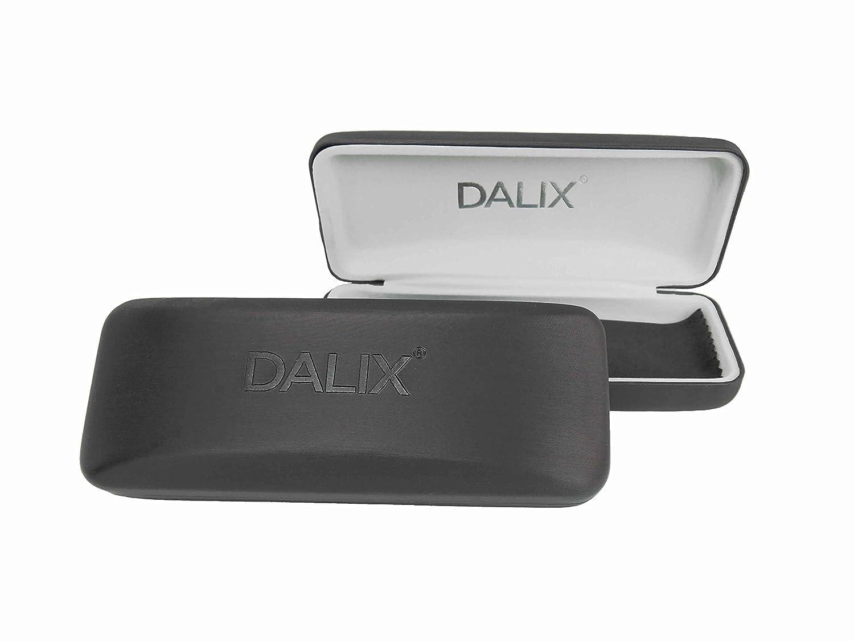 Matte Bla DALIX Prescription Eyeglasses Frames 56-18-140-35 RXable in Gunmetal