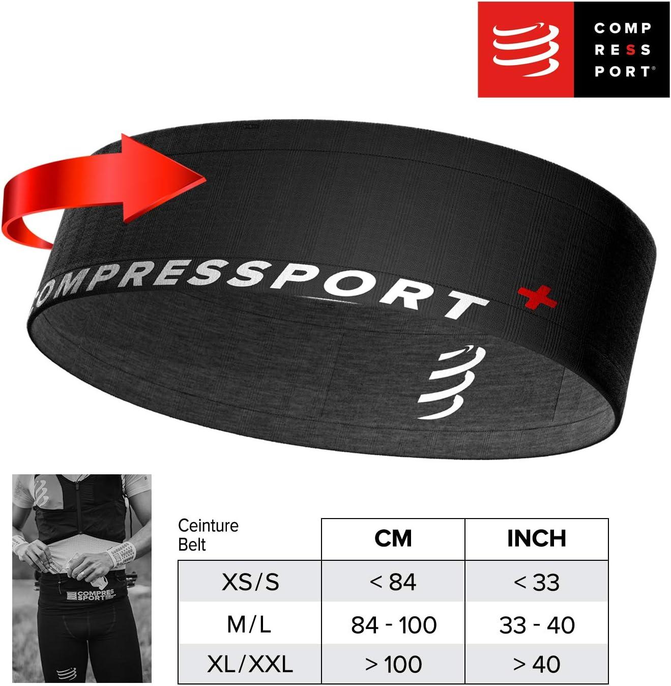 Unisex Adulto COMPRESSPORT Free Belt Cintur/ón de Correr