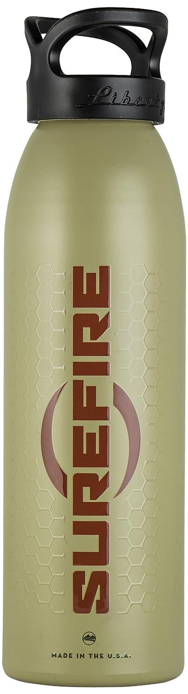 SureFire Water Bottle, Invictus, Tan, Aluminum, 24 fl oz  BTL-TN-003