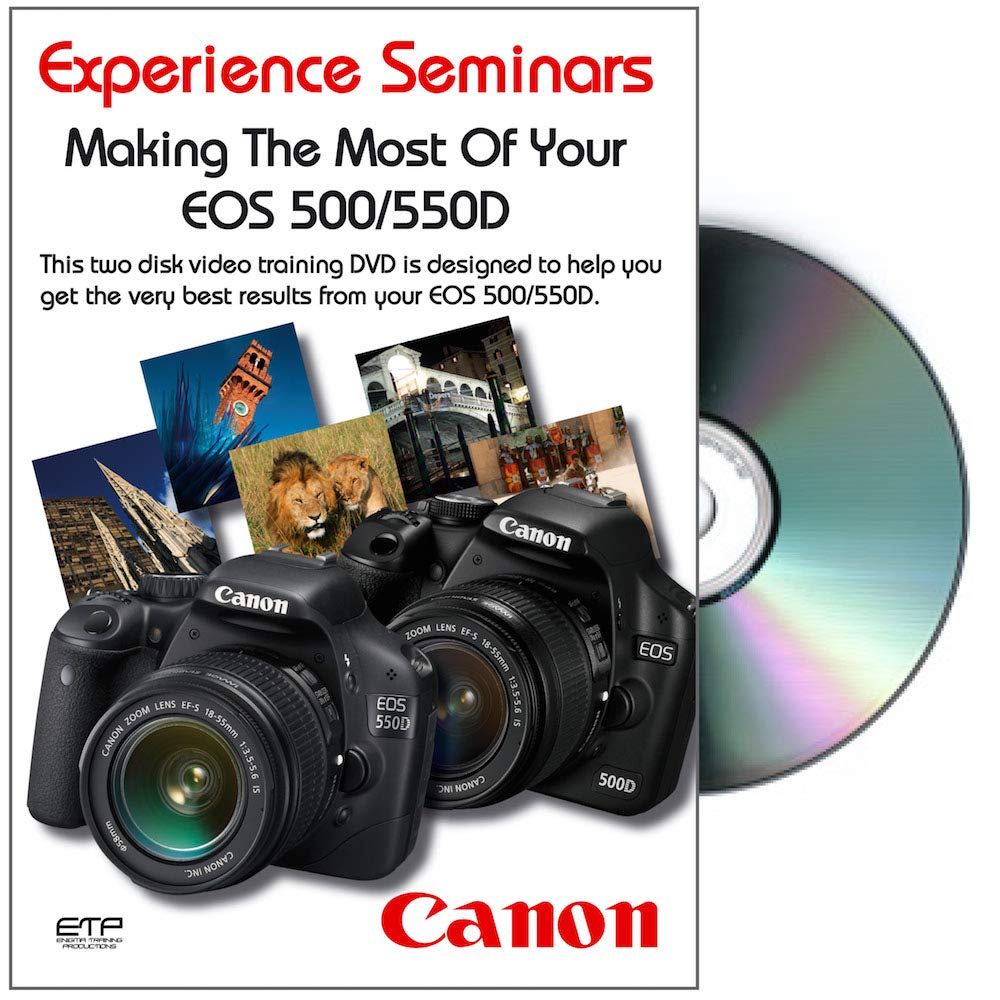 Making The Most Of Your Canon EOS 500D / EOS 550D Camera DVD Reino ...