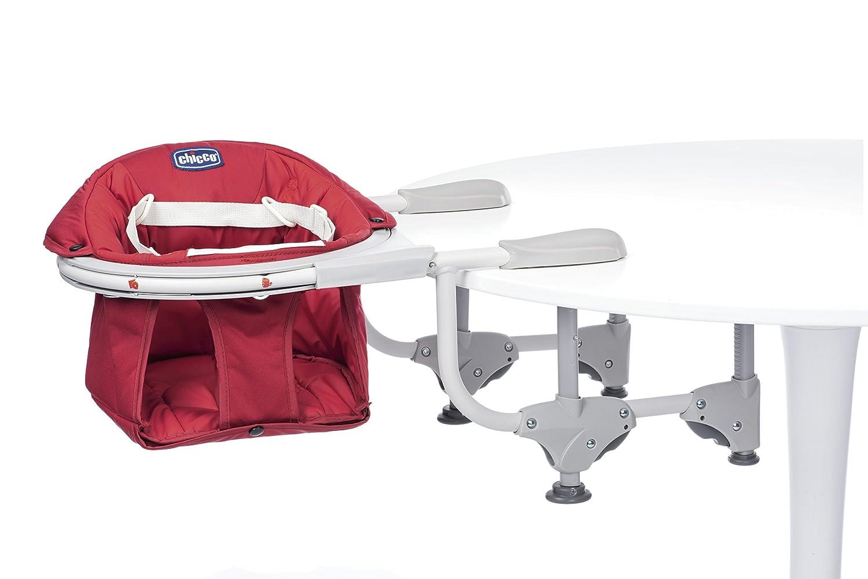 CHICCO 04079496700000 mesa asiento 360 °, rojo