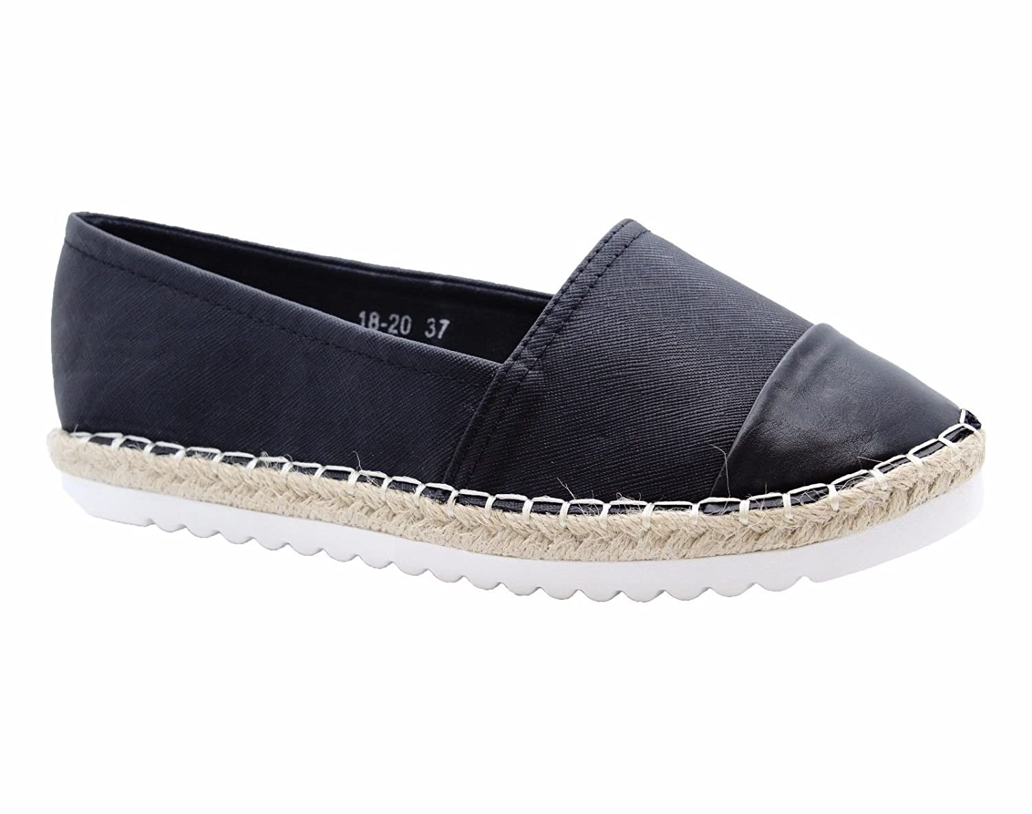 Definitely , You B007IFNVNS Definitely , Espadrilles femme Noir 7ea2382 - piero.space