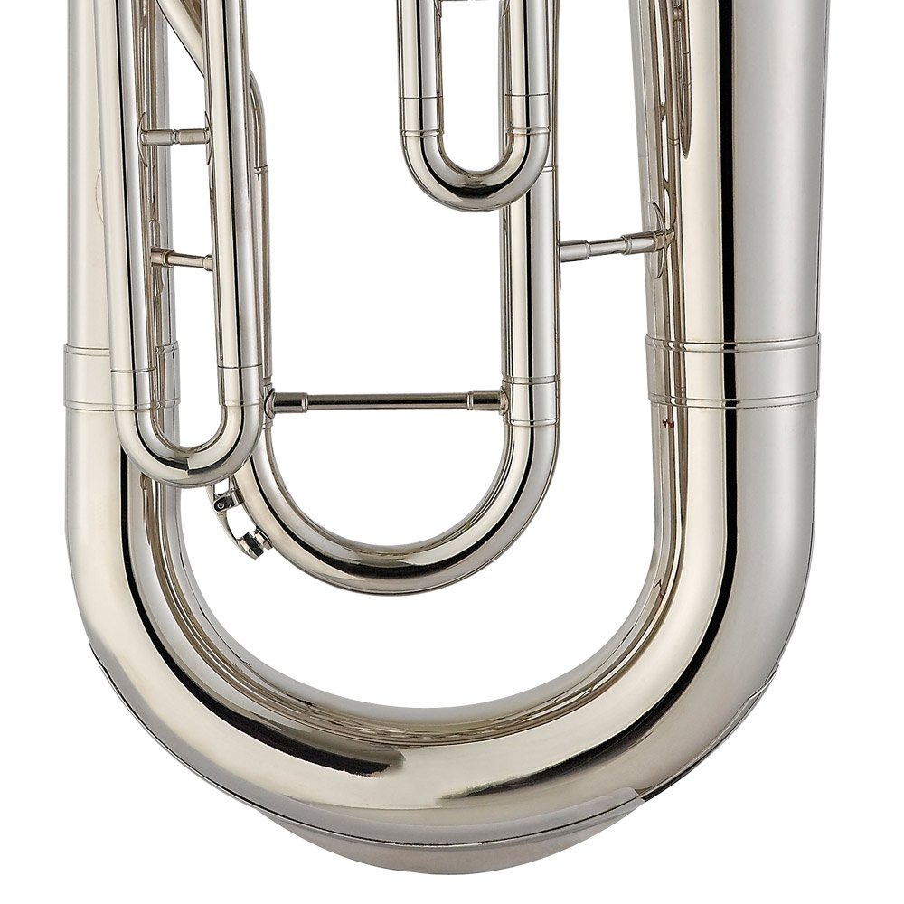 Estella EU200N Nickel Plated B Flat Euphonium with Stainless Steel Pistons by Estella (Image #6)