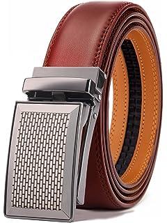 743b52dba BULLIANT Hombre Cinturón-Cuero Automática Cinturón De Hombre 35MM-Tamaño  Ajuste