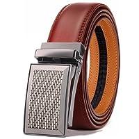 BULLIANT Hombre Cinturón-Cuero Automática Cinturón De Hombre 35MM-Tamaño Ajuste