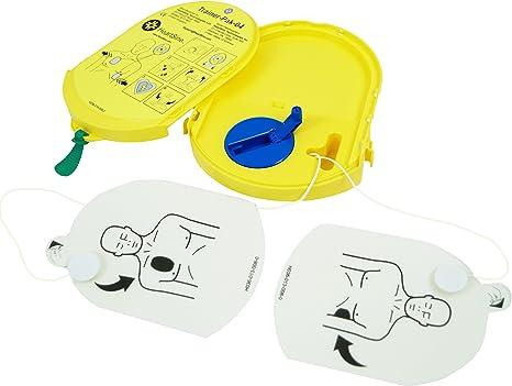Medx5 Upgrade 2020 2in1 Traningsset Reanimationspuppe Halbautomatischer Trainingsdefibrillator Übungsdefibrillator Pad 350p Defibrillator Für Trainer Ausbilder Schulen Drogerie Körperpflege