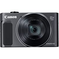Canon PowerShot SX620 HS Digital Camera (Black)