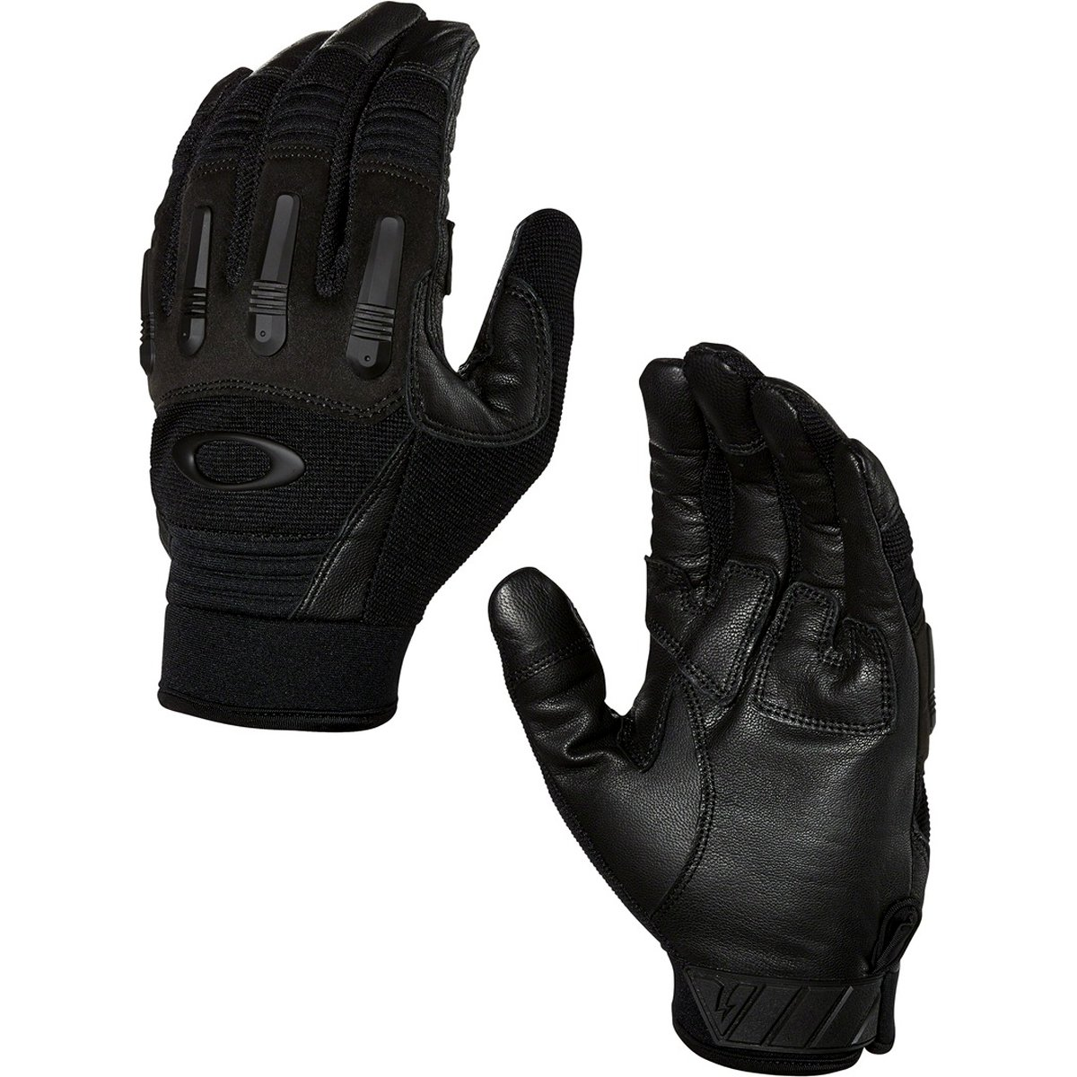 Oakley Transition Tactical Mens Snow Snowmobile Gloves - Jet Black/Small
