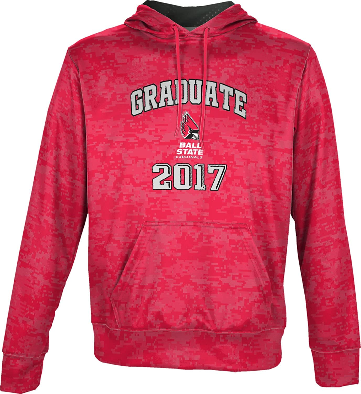 BSU Spectrum Sublimation Men/'s Ball State University Bold Long Sleeve