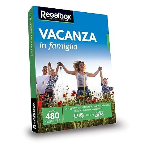 Regalbox - Vacanza in famiglia 2018 - Cofanetto regalo: Amazon.it ...