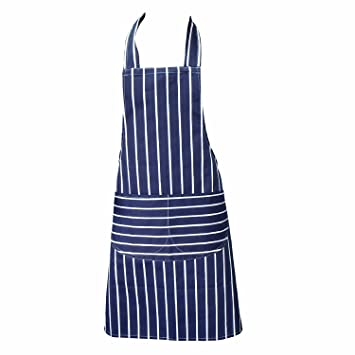 Blue Chefs Aprons, Butchers Aprons, Cooking Aprons, Baking Aprons