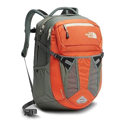 c8afc5e9214 The North Face Women's Recon Backpack - Nasturtium Orange/Sedona Sage Grey  - OS