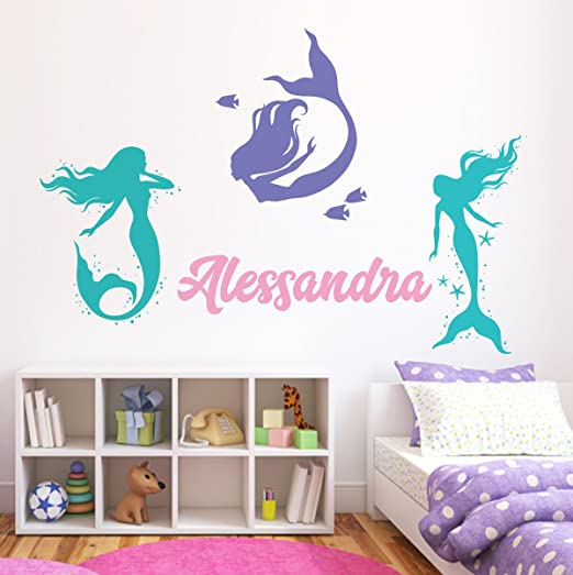 GIRLS NAME Vinyl Sticker Wall Decal Bedroom Decor 48/""