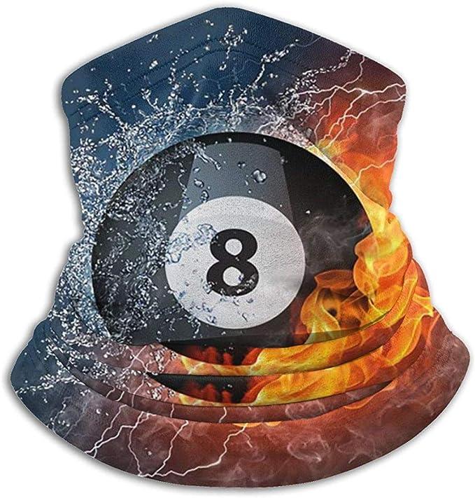 Faithe Keppel Número ocho Bola de billar Calentador de cuello de ...