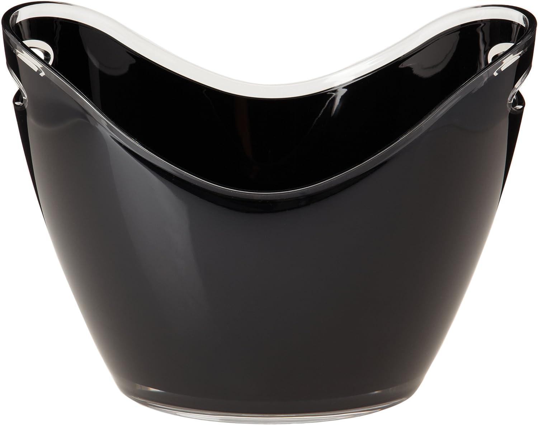 Prodyne Vino Gondola Wine Bucket, Black, 10 1/4w x 14d x 10 1/4h (in)