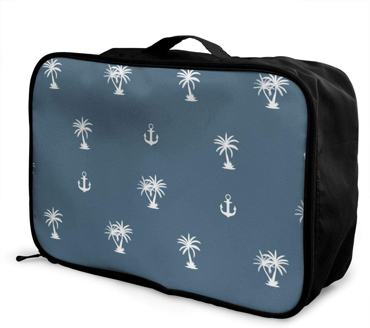 Yunshm Palm Tree Personalized Trolley Handbag Waterproof Unisex Large Capacity For Business Travel Storage