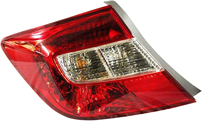 Depo 317-1995L-AC Honda Civic Driver Side Tail Lamp Assembly