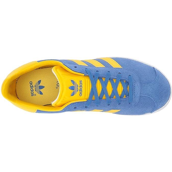 adidas Gazelle J, Chaussures de Fitness Mixte enfant, Bleu (Bleu/Eqtama/
