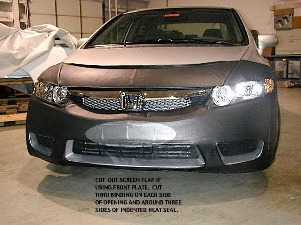 LeBra Front End Cover 2011-12 Honda Accord Sedan w// fogs Car Bra Mask 551259-01