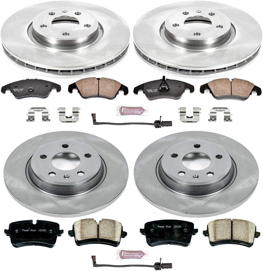 Power Stop KOE5550 Autospecialty Daily Driver OE Brake Kit