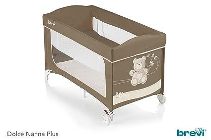 Materassino Lettino Campeggio Brevi.Brevi 811 Lettino Dolce Nanna Plus C Kit Doppia Altezza My Little Bear