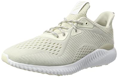 reputable site 36dca 636c8 adidas Alphabounce EM, Chaussures de Running Entrainement Homme, Blanc ( Chalk Footwear White