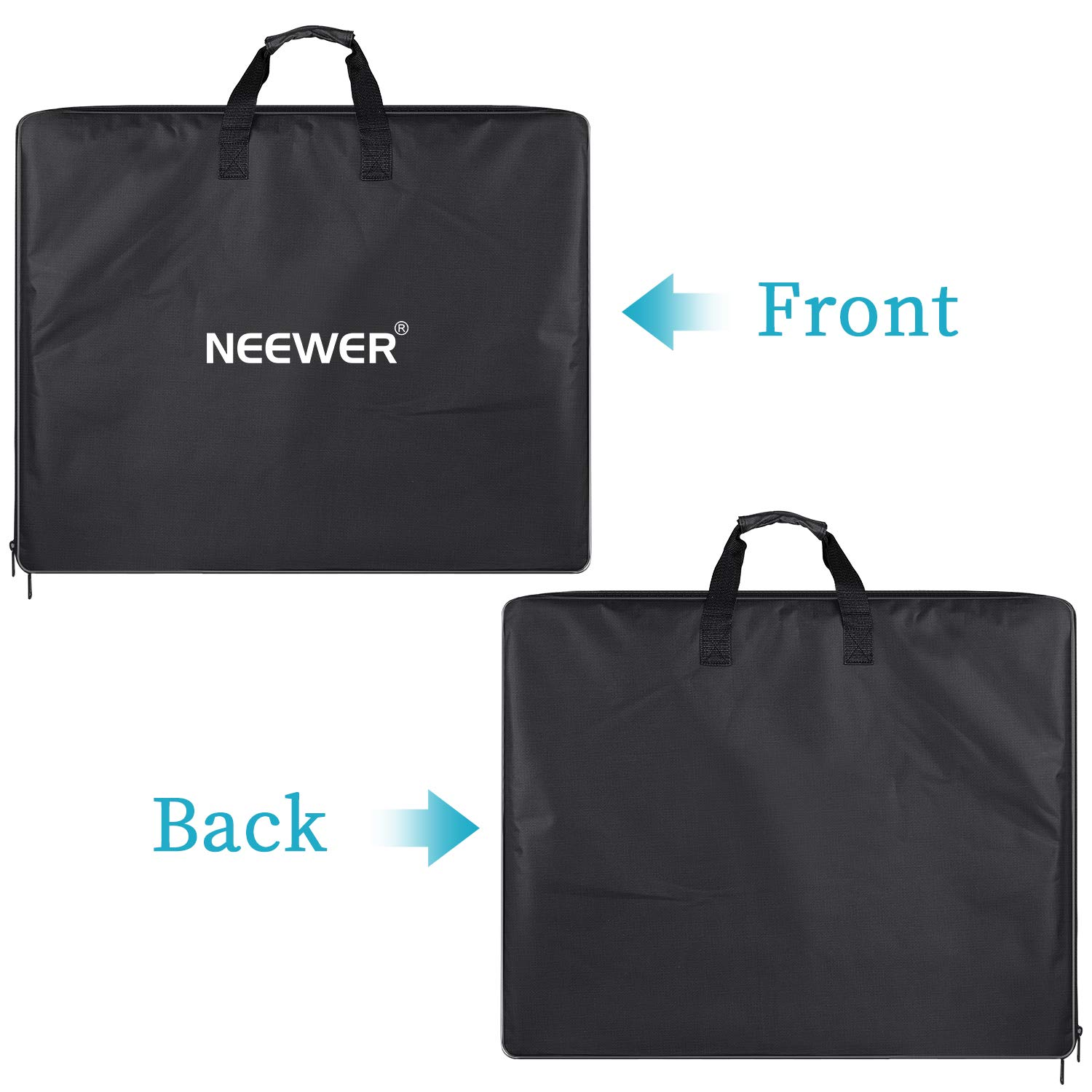 Neewer Enlarged Carrying Bag for 18 inches Ring Light, Light Stand, Accessories - 29.5x23.6 inches/75x60 Centimeters Protective Case, Durable Nylon,Light Weight (Black) by Neewer (Image #4)
